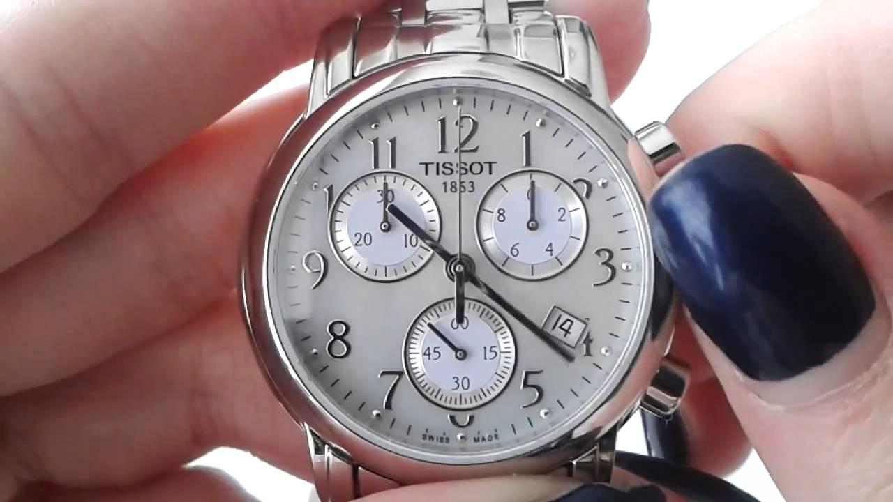 1c730ac4b24 dámské hodinky TISSOT Dressport T050.217.11.112.00 - YouTube