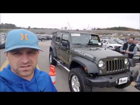 how much is a jeep wrangler at a dealer only auction youtube. Black Bedroom Furniture Sets. Home Design Ideas