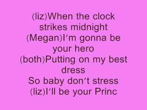 Princess Charming by Megan and liz with lyrics