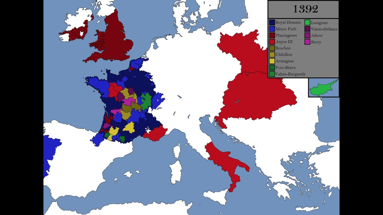 history of france History of the french regions france is divided in 26 administrative regions, 22 being located in europe, the others being overseas territories the french regions all have their own history, often linked to the religious, political and geographic background of the former provinces that once composed france .