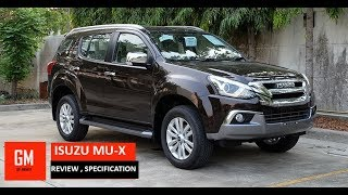 ISUZU MU-X 2018 REVIEW | SPECIFIACTION DETAILS | AUTOCARS | REAL LIFE REVIEW