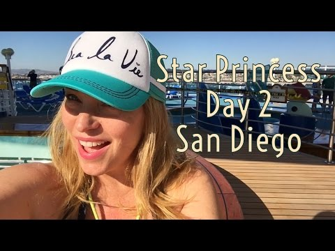 Star Princess cruise vlog Day 2 - San Diego