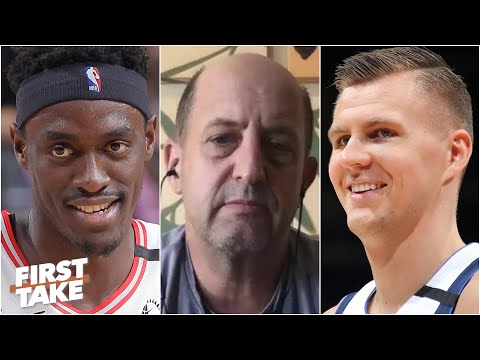 Jeff Van Gundy picks unlikely NBA title contenders and talks Mavericks & Rockets | First Take
