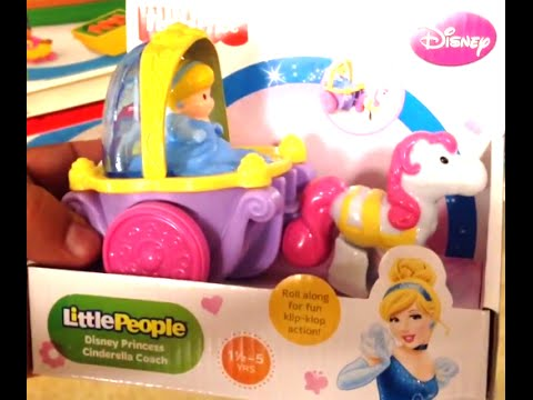 DISNEY PRINCESS CINDERELLA COACH [Little People] By Fisher Price