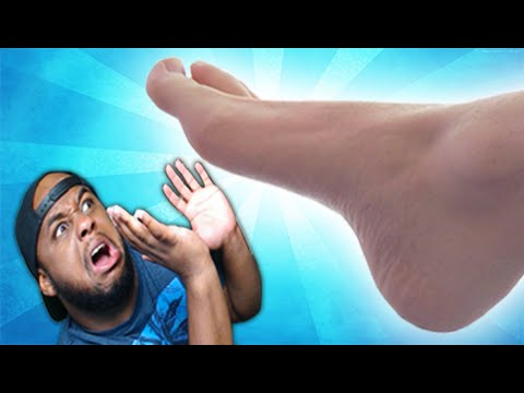 BIGGEST FOOT IN THE WORLD! | ASHI WASH