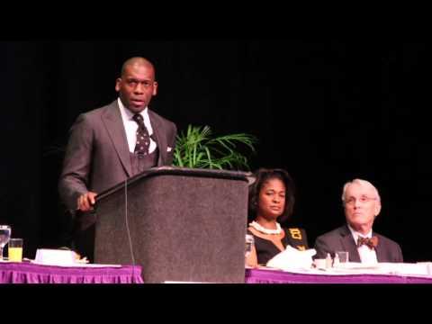 Rev. Dr. Jamal Harrison Bryant speaking in St. Pete, Part 1
