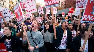 Anti-Trump Protests Continuing From Coast to Coast...
