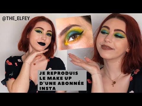 JE REPRODUIS LE MAKE UP D'UNE ABONNÉE INSTA @THE_ELFEY/LAURA 🌙❤️ thumbnail
