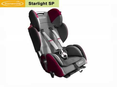 storchenm hle starlight sp kindersitz 9 36 kg gruppe 1 2 3 youtube. Black Bedroom Furniture Sets. Home Design Ideas