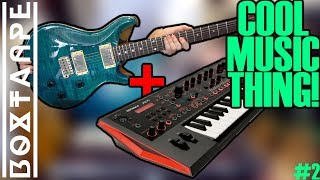 Playing the Roland JD-Xi with a guitar - Cool Music Thing! #2