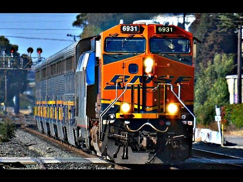 Thumbnail: HD: BNSF ENGINES RESCUING AMTRAK TRAINS!