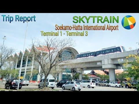 Trip Report || Naik Skytrain Bandara Soekarno Hatta (Part 1)