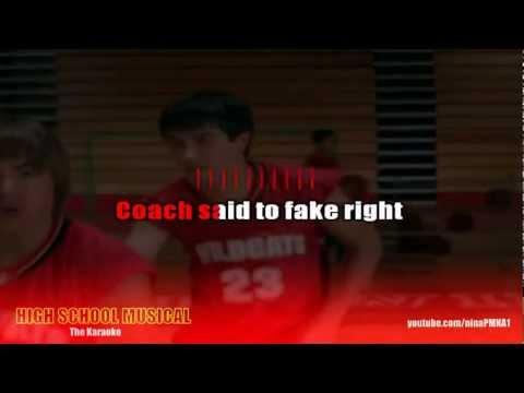 KARAOKE Get'cha Head in the Game - High School Musical