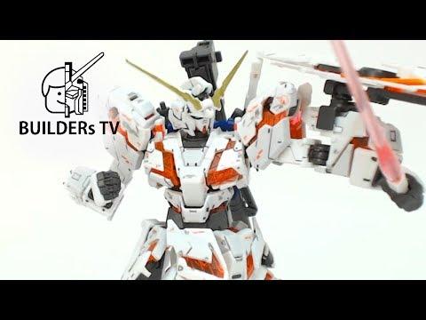 RG UNICORN GUNDAM Speed Build Up (RG 유니콘 건담빠른 조립 리뷰)