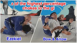 Bow and Arrow and Ezekiel Choke with Troubleshooting | BJJ | Stronghold MMA