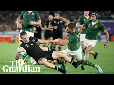 Rugby World Cup: Key moments as New Zealand, France and Australia win