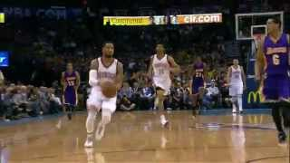 NBA: Augustin Sets Up Westbrook for the Explosive Alley-Oop