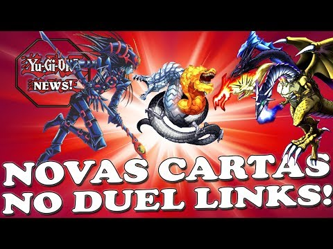 NOVAS CARTAS VAZADAS ENCONTRADA NA DATAMINING  YU GI OH! DUEL LINKS