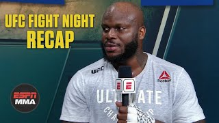 Derrick Lewis talks Curtis Blaydes knockout, who he wants next | UFC Post Show | ESPN MMA