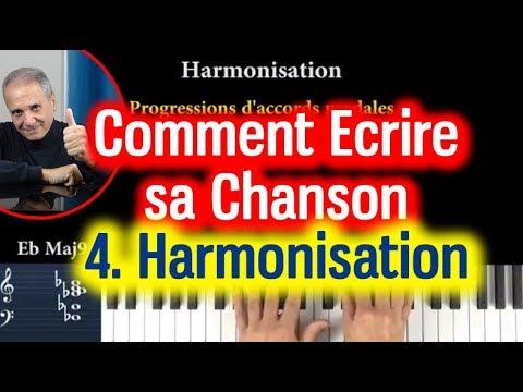 4.  comment harmoniser les mlodies de sa chanson.