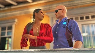 Hitman 2 All Crazy Takedowns | Colombia ( Santa Fortuna )