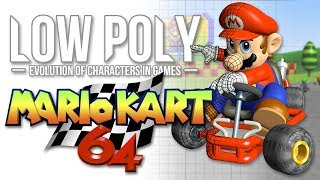 Mario Kart 64 as You've Never Seen It Before - Low Poly - Episode 6