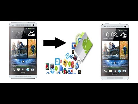 How to transfer apps from one android to another