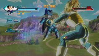 dragon ball xenoverse z fighters vs cell juniors