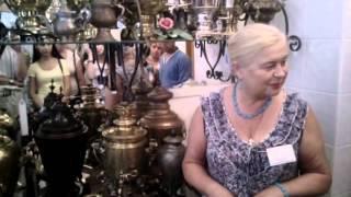 видео . Городец. Экскурсия в Музей самоваров и Музей добра