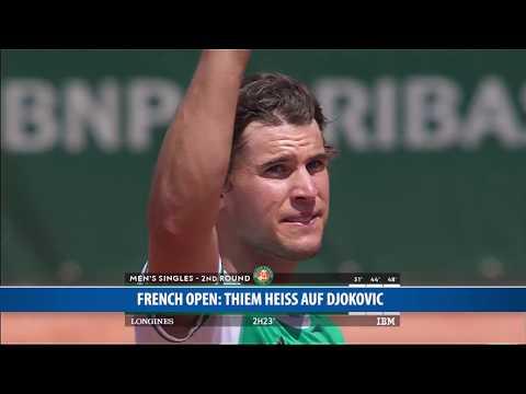 French Open: Thiem heiß auf Djokovic