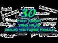 Font-font Keren,youtuber Pemula Harus Punya...!!