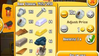 Hay Day Farm - Trade Bolt & Tape for Planks