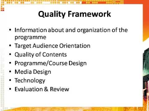 eLearning Quality Standards for TVET Sector in Sri Lanka - EFQUEL-LINQ
