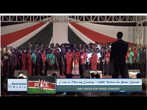 I Vow To Thee My Country  Ll 1000 Voices  For Peace Concert