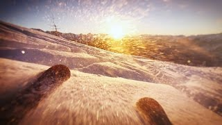 DJI Phantom + OSMO + Snow = FUN