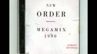 NEW ORDER MEGAMIX MINI CD PROMO 1990