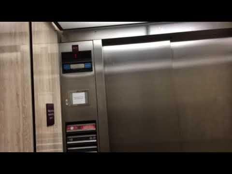 Eletech Impulse Traction Elevator At Clarkson Tower UNMC In Omaha Nebraska