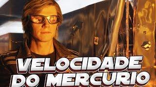 QUAL A VELOCIDADE DO MERCURIO