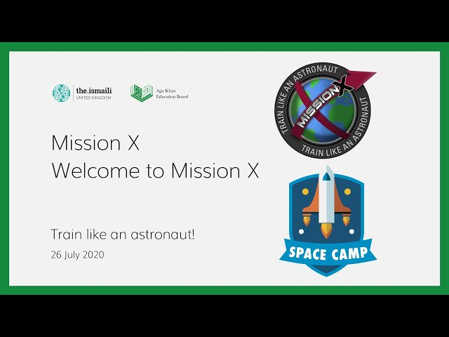 Welcome to Mission X! - AKEB