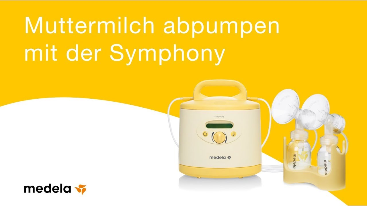 Milchpumpe Symphony – Step-by-Step Anleitung