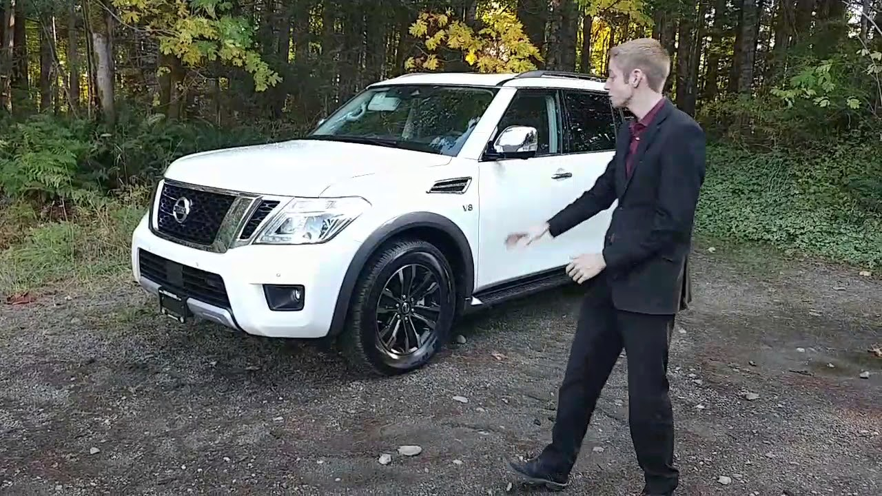 All New 2018 Nissan Armada Platinum