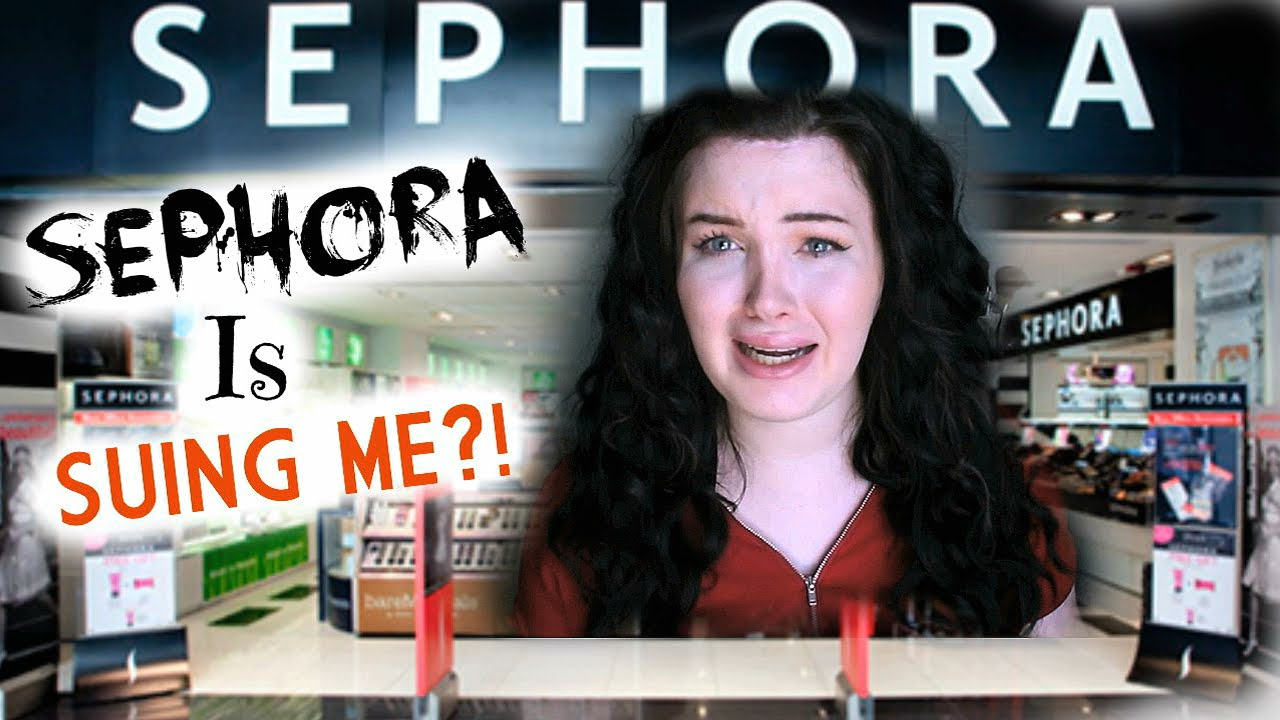 IM GETTING SUED BY SEPHORA!? The Employees Saw my Videos!| Raiden Quinn