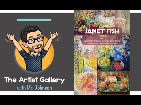 The Artist Gallery: Janet Fish