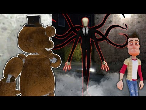 I Became Slender Man And Haunted My Friends In Gmod! - Garry's Mod Hide And Seek