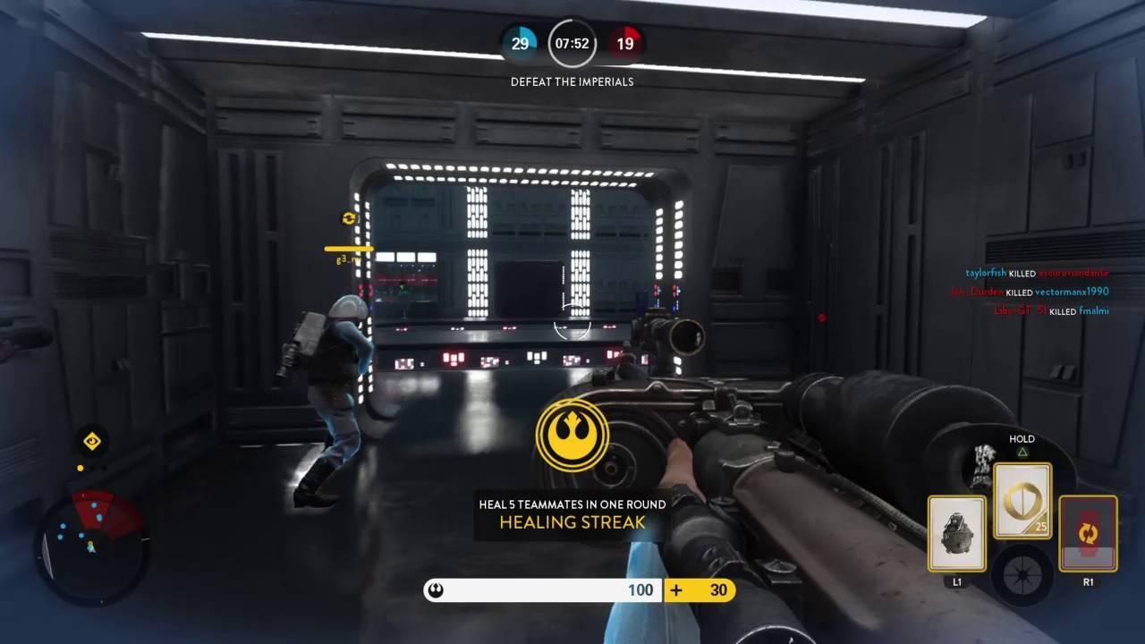 STAR WARS™ Battlefront™ Death Star map blast mode   YouTube