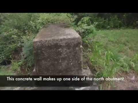 Mysterious lost bridge Williamsport Pennsylvania