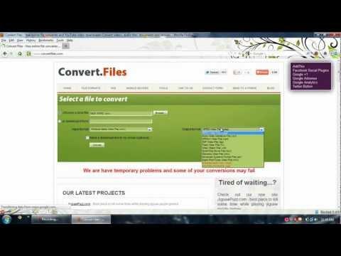 Online Files Converter
