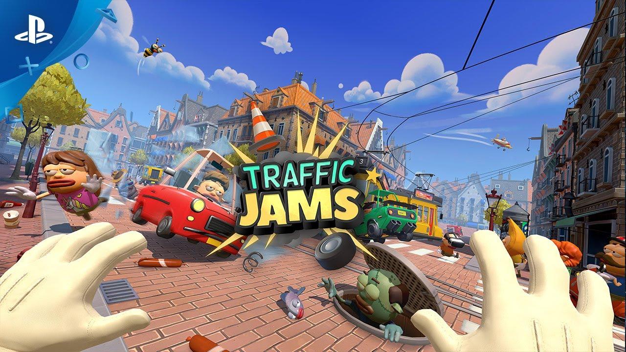 Traffic Jams Brings Traffic Chaos To Ps Vr This September Playstation Blog