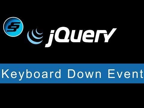 Keyboard Down Event - jQuery Ultimate Programming Bible thumbnail