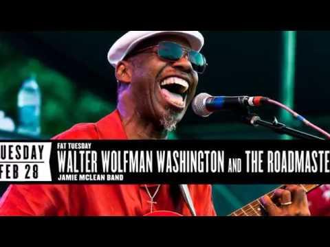 Walter Wolfman Washington   ~  Tribute  ( Modern Electric Louisiana Blues )